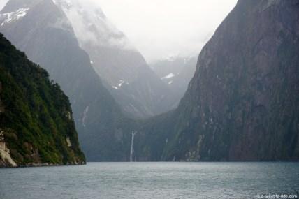 Nouvelle-Zélande, Milford Sound, croisière