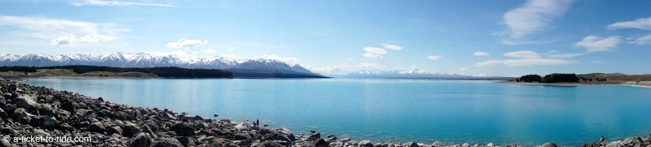 Nouvelle-Zélande, lac Tekapo