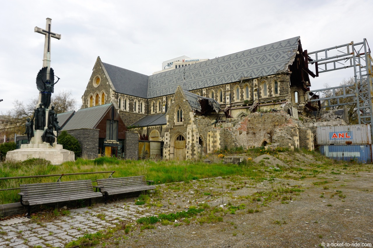 Nouvelle-Zélande, Christchurch, cathédrale