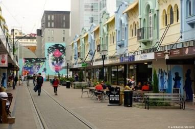 Nouvelle-Zélande, Christchurch,