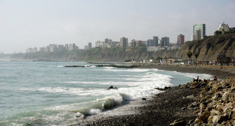 Pérou, Lima, falaises Miraflores