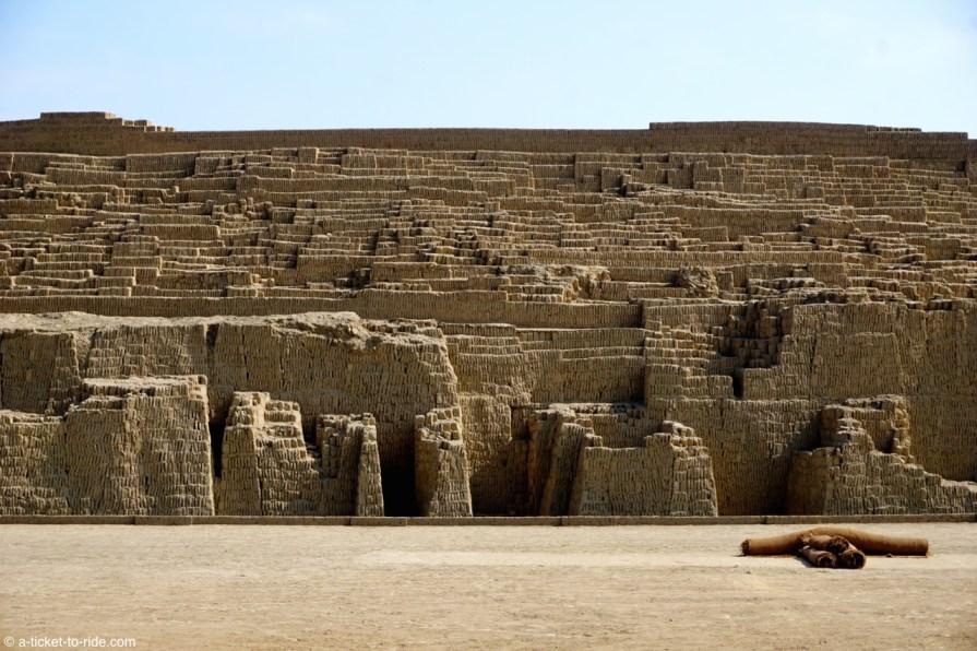 Pérou, Lima, Huaca Pucllana
