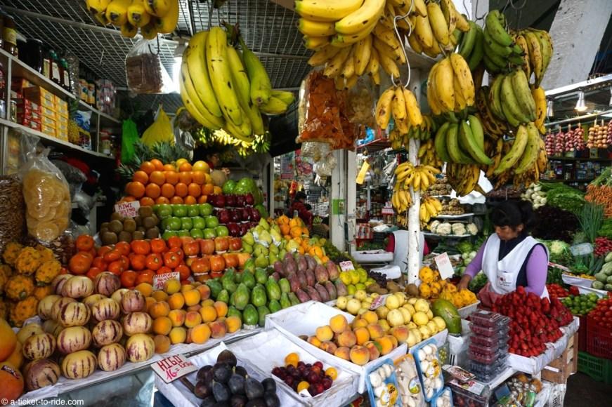 Pérou, Lima, marché de Surquillo