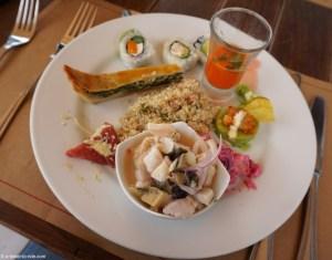 Manger à Lima