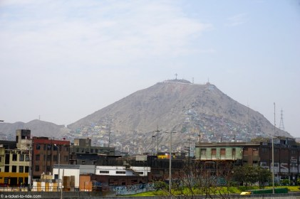 Pérou, Lima, mirador San Cristobal