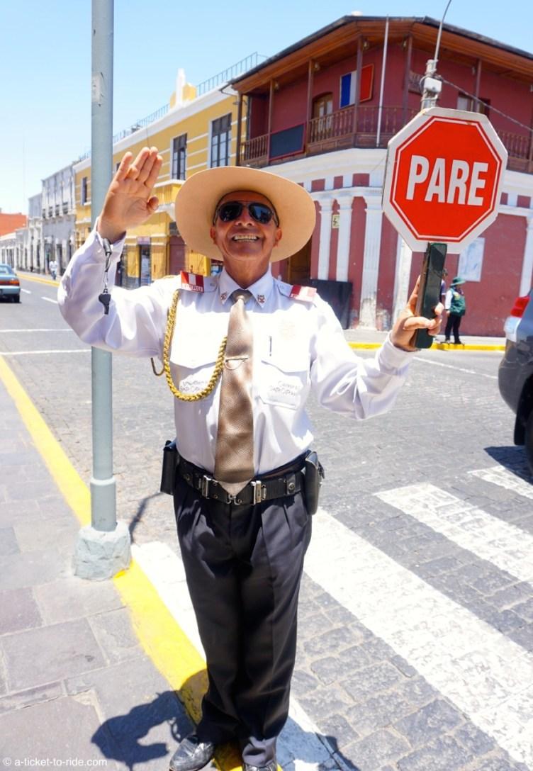 Pérou, Arequipa, rencontre