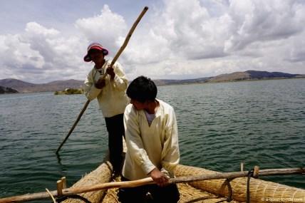 Pérou, lac Titicaca, îles Uros