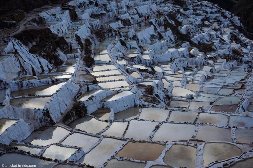 Pérou, Vallée sacrée, salines de Maras