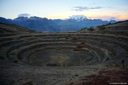 Pérou, Vallée sacrée, Moray