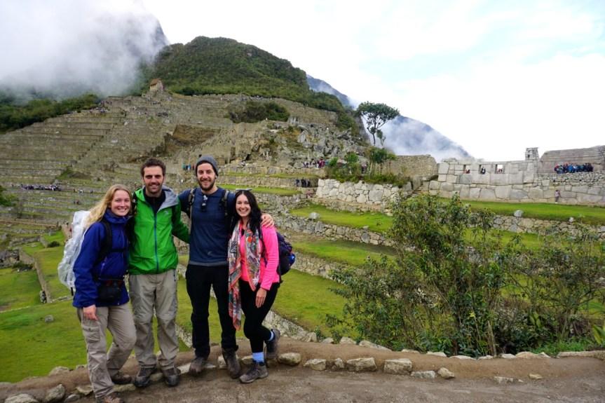 Pérou, Machu Picchu, avec Kirstie et Will