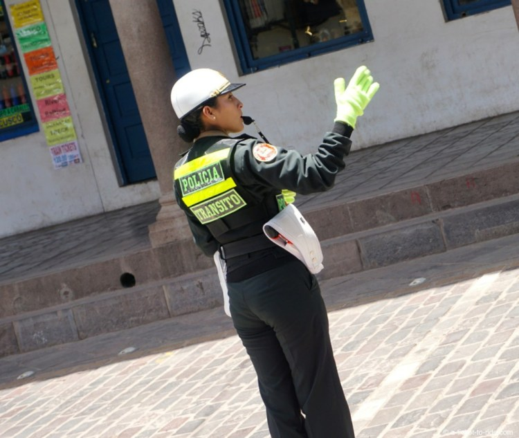 Pérou, police