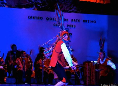 Pérou, Cusco, danses traditionnelles