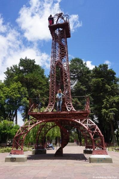 Bolivie, Sucre, tour eiffel