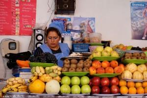 Bolivie, Sucre, mercado central