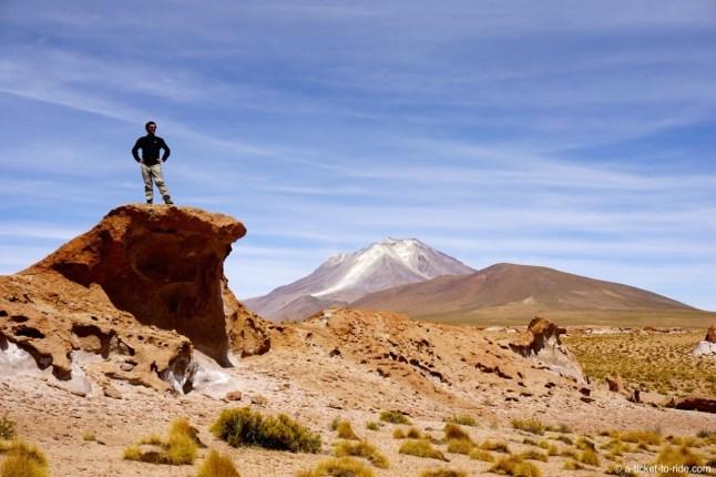 Bolivie, Sud Lipez, volcan Ollagüe