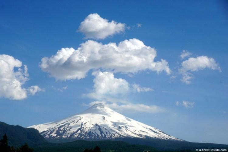 Chili, Pucon, volcan Villarica