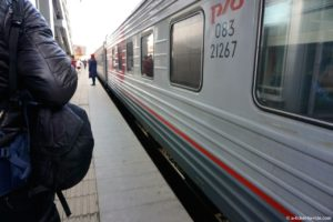 Russie, transsibérien, wagon