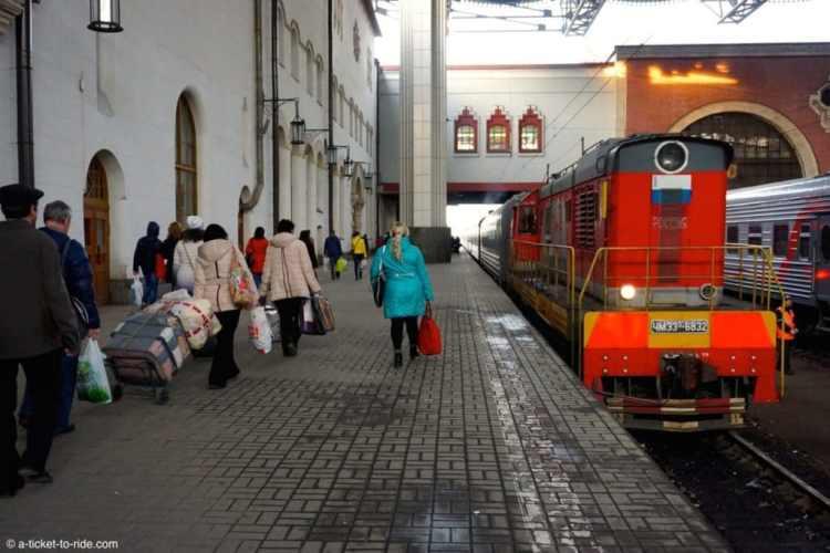 Russie, transsibérien, gare
