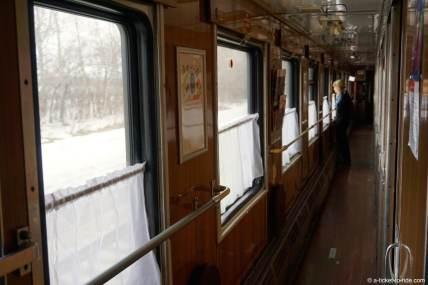 Russie, transsiberien, dans le wagon de 2e classe