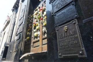 Argentine, Buenos Aires, tombe Eva Perón