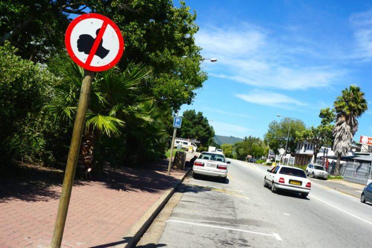 Afrique du Sud, autostop