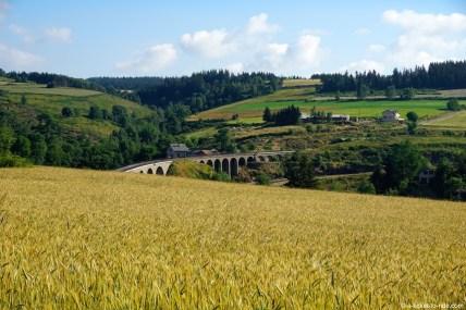 France, GR70, viaduc de Mirandol