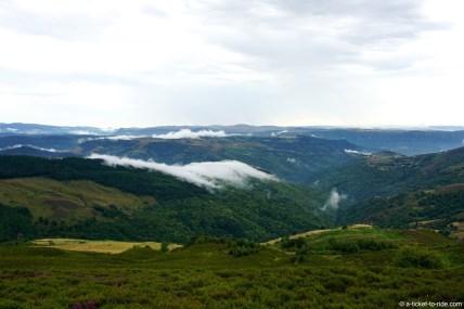 France, GR 70, massif du Bougès
