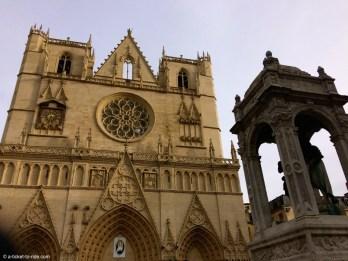 Lyon, cathédrale Saint-Jean