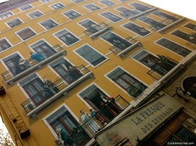 Lyon, la fresque des lyonnais