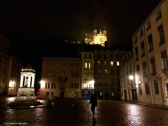 Lyon, la place Saint-Jean