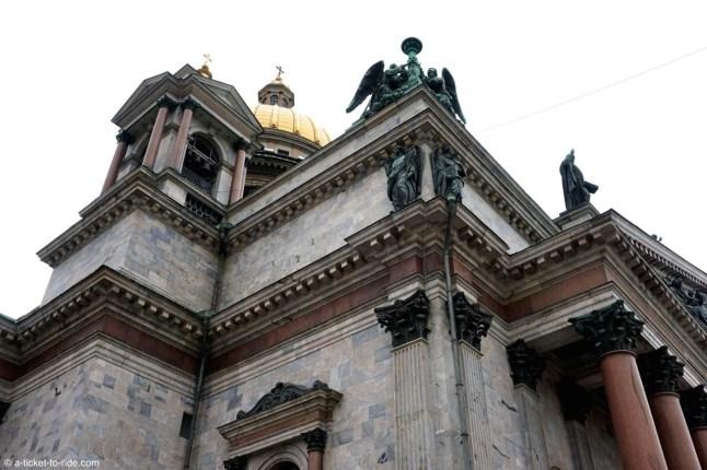 Russie, Saint-Pétersbourg, cathédrale Saint-Isaac