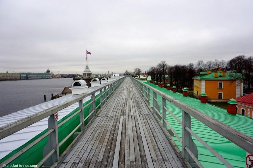 Russie, Saint-Pétersbourg, forteresse Saint Pierre et Paul