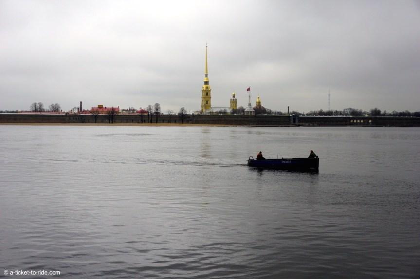 Russie, Saint-Pétersbourg, Cathédrale Saint Pierre et Paul