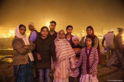 Inde-Khumbh Mela-famille