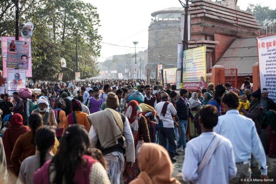Inde-Khumbh Mela-foule