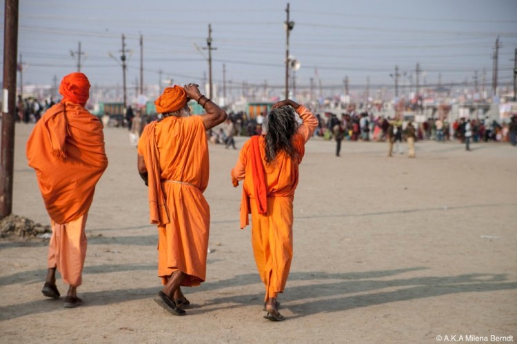 Inde-Khumb Mela-guru