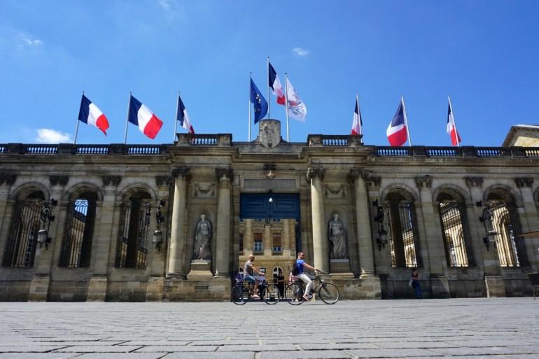Bordeaux, hôtel de ville - Palais Rohan