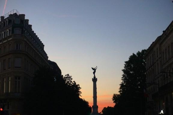 Bordeaux, monument des Girondins