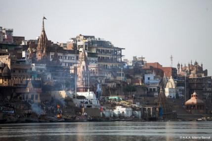 Inde, Varanasi, ghat des crémations
