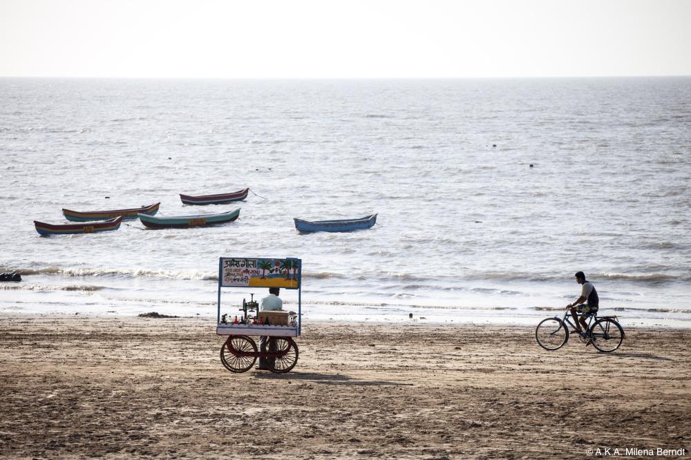 Inde, Mumbai, Manori Beach