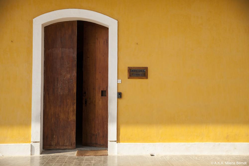 Inde, Pondichéry, consulat français