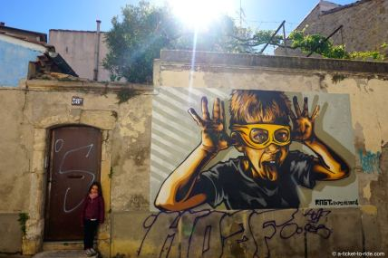 Nîmes, expo de ouf, quartier Gambetta
