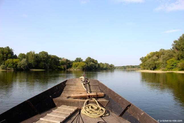 Sur la Loire, avec le Raboliot