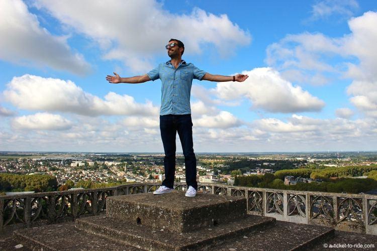 Bourges, sur le toit de la cathédrale