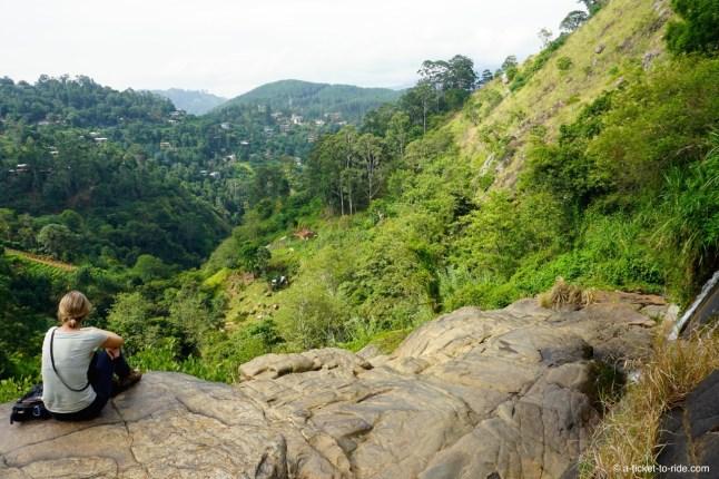 Sri Lanka, Ella, petites chutes de Rawana