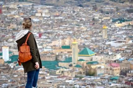 Fès, vue sur la ville