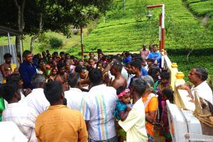 Sri Lanka, Haputale, cérémonie hindoue