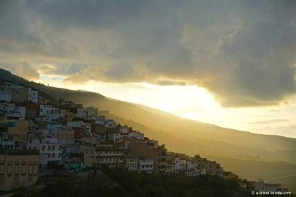 Moulay Idriss, coucher de soleil