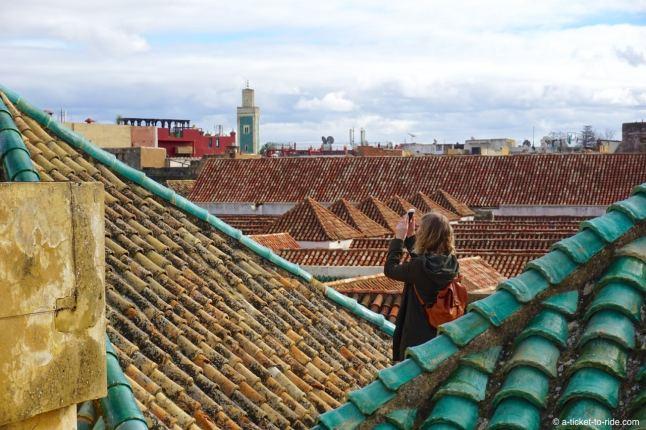 Meknès, sur les toits