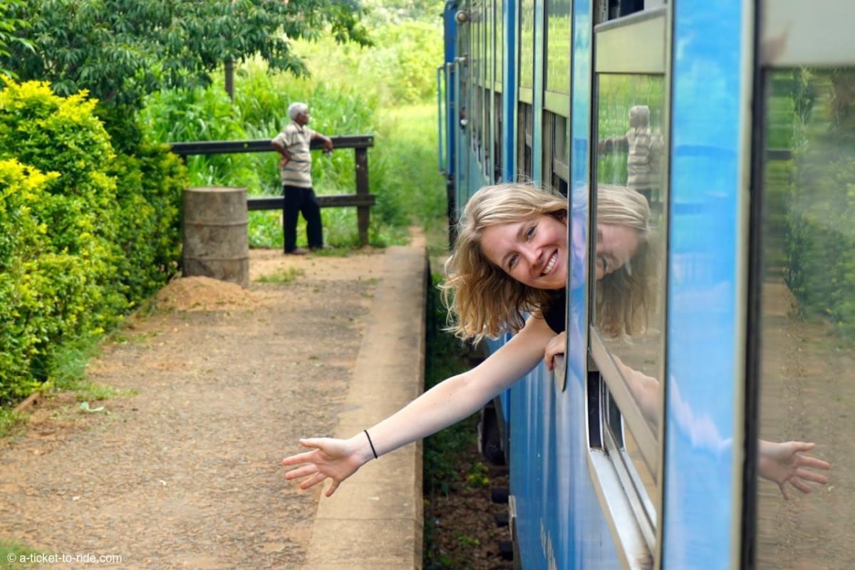 Sri Lanka, train, elodie